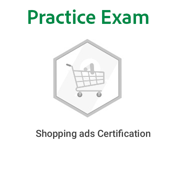 Practice Test – Google shopping-advertising Exam